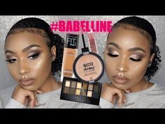 Full Face Using Maybelline | Affordable Drugstore Fall Makeup - YouTube