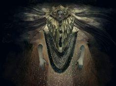 Moth Mother by SkyWheel.deviantart.com on @deviantART