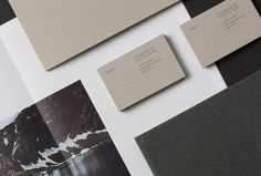 Maaemo by Bielke&Yang; #stationary #business card #print in Printed Materials