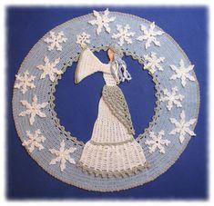 Snow Queen Doily Crochet  PDF Pattern by BellaCrochet on Etsy, $7.95