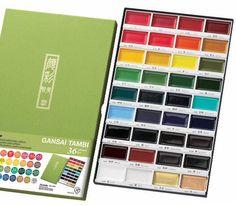 Nona Designs - Zig Kuretake Gansai Tambi Watercolor Sets - BACK IN STOCK!