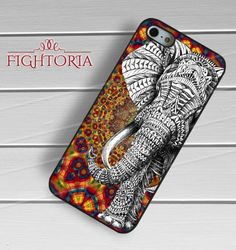 Mandala Elepanth Aztec - zzZzz for  iPhone 6 case