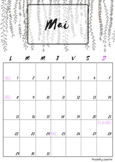 1000 ideas about calendrier mai 2016 on pinterest - Calendrier du potager mois par mois ...