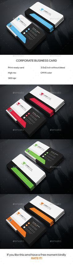 Corporate Business Card Template PSD. Download here: http://graphicriver.net/item/corporate-business-card-v1/15400275?ref=ksioks