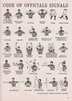 If you wanna be a ref one day, pin this. Volleyball Referee, Football Referee, Basketball Rules, Football Conditioning Drills, Referee Costume, Football 101, Coaches Wife, Baseball Mom, Baseball Tips