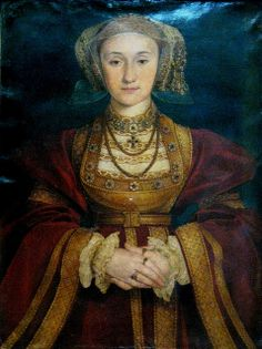 Anne of Cleves  by  Hans Holbein the Younger, 1539. Anne was bartered by her brother into marriage to Henry VIII to further the Protestant league. Henry found her lacking, after the annulment she went on to have a long happy life with more freedom than she would have had if she had returned to her homeland.