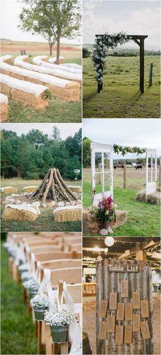 country rustic farm wedding ideas #rusticwedding #countrywedding #farmwedding #weddingdecor