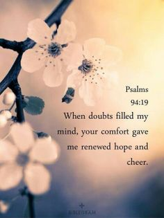 Psalms 94:19.     mwordsandthechristianwoman.com
