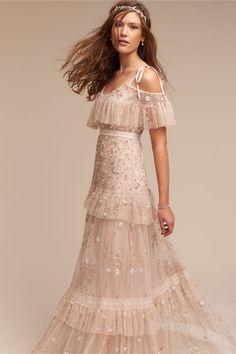 gypsy bride   Wyndham Gown from BHLDN
