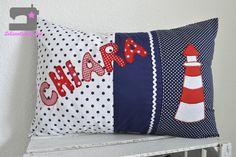 Namenskissen & Decken - Kissen mit Namen, Kuschelkissen personalisiert - ein Designerstück von Lebenslustig bei DaWanda