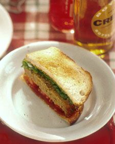 Martha's Meatloaf Sandwich. Ketchup can be used in place of the tomato ...