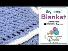 Crochet Baby Blanket for Beginners + Tutorial - The Crochet Crowd