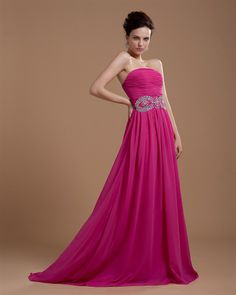 osell wholesale dropship Strapless Floor Length Ruffle Chiffon Plus Size Evening Prom Dresses $86.09
