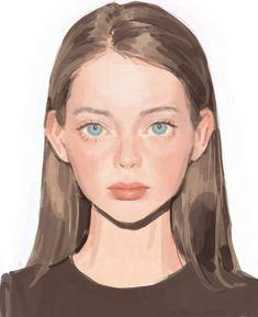 Pretty Art, Cute Art, Guache, Digital Art Tutorial, Digital Art Girl, Art Drawings Sketches, Anime Art Girl, Art Sketchbook, Portrait Art