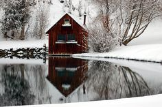 barn on the water