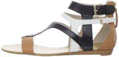 Amazon.com: Nine West Women's Wispy T-Strap Sandal: Shoes