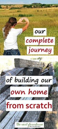 from start to finish, everything you could ever need to know to build your own house.