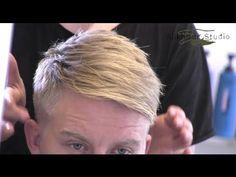Enrique Iglesias inspired hair - Men's short blond hair - By Vilain - Slikhaar Studio