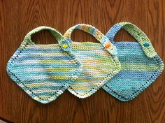 Ravelry: Grandmother's Favorite Baby Bib pattern by Merin McManus Collins