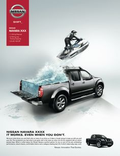 Nissan Navara by Vessela Ignatova, via Behance