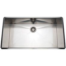 View the Rohl RSS3618 37 Undermount 16 Gauge Stainless Steel Kitchen Sink at Build.com.