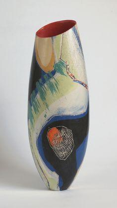 Carolyn Genders at Ceramics Now http://www.newashgate.org.uk