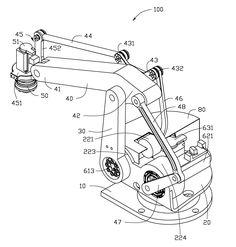 Патент US20120067156 - Robot for handling object - Google Патенты