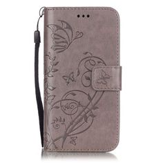 Luxury 3D Embossing Flower PU Leather Case for iPhone 8 7 6 6S Plus 4 4S 5 5S SE 5C Flip Wallet Cover for iPhone 7Plus Cases