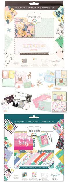 NEU im Shop: All in one-, Core- und Value Kits  -  von Project Life by Becky Higgins  für eure kreativen Bastelprojekte, Scrapbooking Layouts, Karten und vieles mehr | www.danipeuss.de #danipeuss #scrapbooking #basteln #scrapbookprintouts