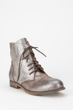 Glamorous boots.. #urbanoutfitters #metallic #boots