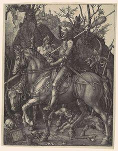 Albrecht Dürer: Knight, Death, and the Devil (43.106.2) | Heilbrunn Timeline of Art History | The Metropolitan Museum of Art