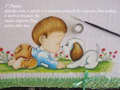 PINTURAS MEIRE: Passo a Passo - Como Eu Pinto Cabelinhos !!!!