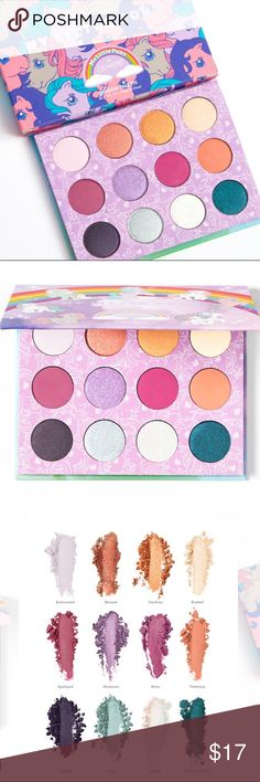Colour Pop My little pony eyeshadow palette. New Colour Pop My little pony eyeshadow palette. New Authentic Sephora Makeup Eyeshadow