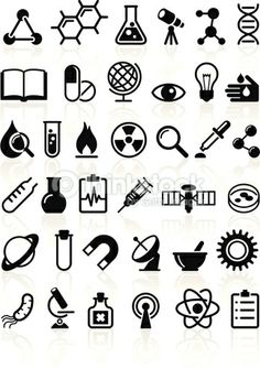 Science Vector Icons Vector Art 161759578