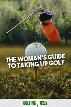 Planning to learn how to golf? Here& our women& guide on everything girls need to know about playing golf. Golf Training Aids, Golf Practice, Woods Golf, Golf Instruction, Golf Tips For Beginners, Golf Exercises, Golf Player, Golf Quotes, Golf Lessons