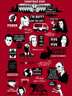 Buffy Quotes | Available as a shirt at: www.redbubble.com/pe… | Flickr
