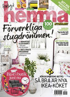 Veckans nummer av Härligt hemma! Nr 19/2013.