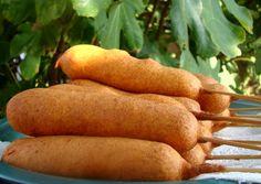 Super Spaghetti Rezept als Sensation Corn Dogs, Hamburger, Carrots, Sandwiches, Snacks, Baking, Vegetables, Hot Dog, Food