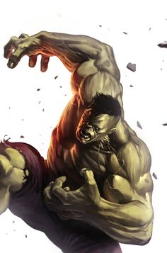 #Hulk #Fan #Art. (Incredible Hulk #605 Variant Cover) By: Marko Djurdjevic. AWESOMENESS!!!