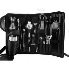 Bar Tool Roll - 18 piece Tool Option
