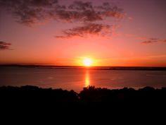 Sunset in Porto Alegre