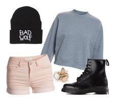 """""""Untitled #27"""" by zilamidel ❤ liked on Polyvore featuring Acne Studios, Pieces, The Limited, Dr. Martens, women's clothing, women, female, woman, misses and juniors"""