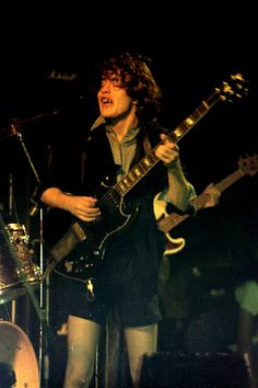 THIS DAY IN ROCK HISTORY: April 1, 1976:  AC/DC makes their live stage debut at the Red Cow club in London.