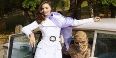 Thriller Fashion: Miranda Kerr Is Hauntingly Chic  - HarpersBAZAAR.com