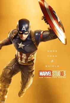 Captain America - More than a shield poster