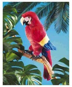 Folkmanis Inc. Fmt2362 Puppet Scarlet Macaw $18.19