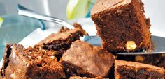 Brownie con cacahuetes