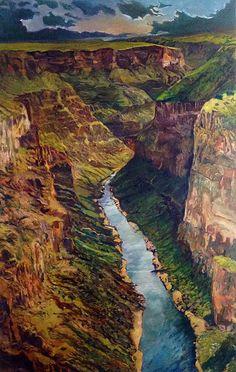 Rio Grande gorge Taos, NM Chris Easley