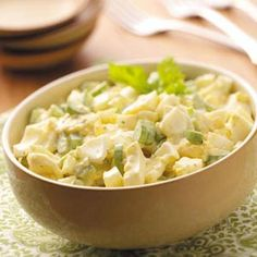 Old-Fashioned Egg Salad Recipe from Taste of Home