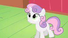 Sweetie Belle: Yes, sort of ... no ...
